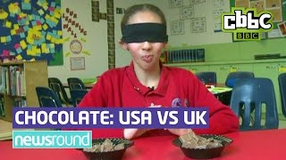 Download American Chocolate vs UK Chocolate - Which is better? CBBC Newsround Video