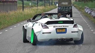 Download Rocket Bunny Nissan 350Z Widebody! REVS, BURNOUT & ACCELERATIONS! Video