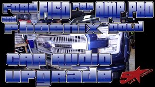 Download Ford F150, Pac Amp Pro, and Phoenix Gold car audio upgrade Video