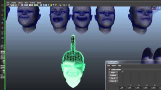Slap on Auto Rigging for Face and Body Maya Script Free Download