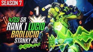 Download RANK 1 LUCIO - BADLUCIO (80% Win Rate) Better than Stanky legend? [S7 #3 EU] Video