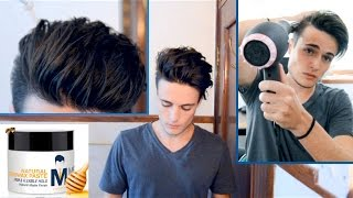 Download Messy Pompadour - Mens Hair Tutorial & Hairstyle Video