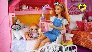 Download Bebés LOL Surprise y Mama Barbie Rutina de Noche en Familia Video