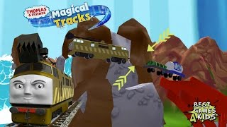 Download BUG - DIESEL 10 with a Ghost Wagon | Thomas & Friends: Magical Tracks - Kids Train Set #20 By Budge Video