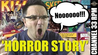 Download Look at this poor KISS vinyl record! SEALED TO REVEALED horror story! Video
