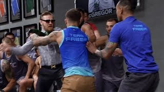 Download Conor McGregor and Cody Garbrandt nearly ignite a brawl Video