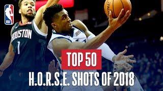 Download NBA's Top 50 H.O.R.S.E Shots Of 2018 Video