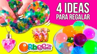 Download 4 IDEAS para REGALAR con ORBEEZ (amigo invisible) * Manualidades y Experimentos Orbeez en español Video