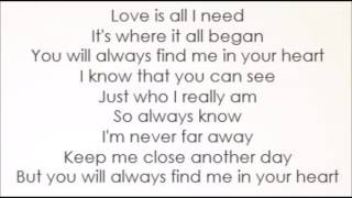 Download Smurfs 3 - Shaley Scott - You Will Always Find Me In Your Heart (Lyrics) Video