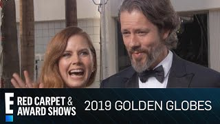 Download Amy Adams & Darren Le Gallo Shout Out Daughter at 2019 Globes | E! Red Carpet & Award Shows Video