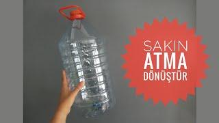 Download HARİKA BİR GERİ DÖNÜŞÜM / Kendin yap / Diy / Geri dönüşüm projesi Video