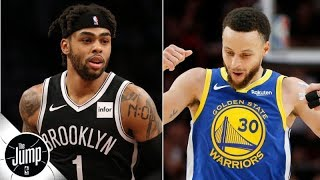 Download The Warriors to shop D'Angelo Russell? 'They can't trade him!' - Marc J. Spears | The Jump Video