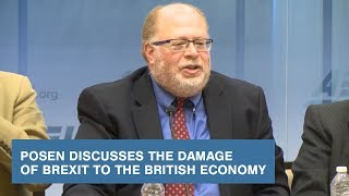 Download Posen Discusses the Damage of Brexit to the British Economy Video