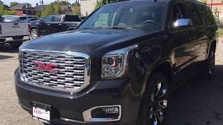 Download 2020 GMC Yukon XL Denali Retractable Running Boards Dual Blu Ray DVD Black Oshawa ON Stock #200065 Video