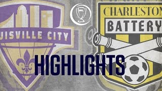 Download HIGHLIGHTS: Louisville City FC vs Charleston Battery 10-8-16 Video