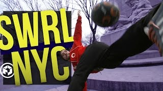 Download Freestyle football in Central Park with SWRL | theFC Video