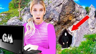 Download Finding GAME MASTER Top Secret Laptop in Abandoned Cave! (Exploring mystery clues) Video