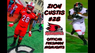 Download Zion Custis Official Freshman Highlights #28 || Southeast Missouri State Football Video