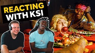 Download KSI REACTS TO ON POINT REACTION VIDEOS (LOGAN PAUL DISS TRACK) Video