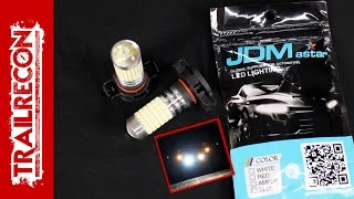 Download JDM astar LED Fog Lightbulb Review and Install on a Jeep Wrangler Video