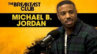 Download Michael B. Jordan Dodges Relationship Questions, Talks Life Post-Black Panther + More Video