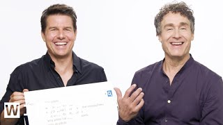 Download Tom Cruise & Doug Liman Answer the Web's Most Searched Questions | WIRED Video