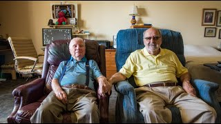 Download Married veterans John, 100, and Jerry, 72, have been together for almost 25 years | StoryCorps Video