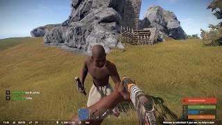 Download Rust Social Experiment - Giving a random player a gun Video