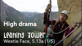 Download DRAMA ON A BIG WALL 😂 - LEANING TOWER FREE 1/5 Video
