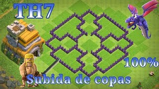 Download ¡¡TH7!! DISEÑO DE ALDEA AYUNTAMIENTO 7 , SUBIDA DE COPAS CLASH OF CLANS %WIMERS% Video