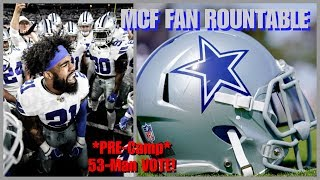 Download MCF FAN ROUNDTABLE: Special Guests Discuss & Vote On Our 53-Man Roster Training Camp Preview & More! Video
