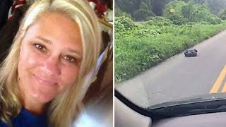 Download Woman See Trash Bag On The Side Of Road. When She Looks Inside Her Heart Drops Video