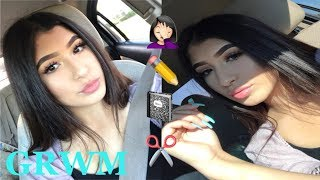 Download GRWM MAKEUP, HAIR & OUTFIT | FIRST DAY OF JUNIOR YEAR Video