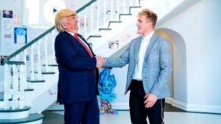 Download I MET PRESIDENT DONALD TRUMP!! Video