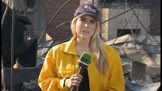 Download Thomas Fire devouring California Video