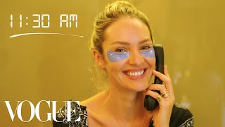 Download How Top Model Candice Swanepoel Gets Runway Ready | Diary of a Model | Vogue Video