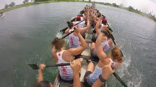 Download Canadian National Dragon Boat Championships 2017: Race 143 - 500m Premier Mixed Final A - 22Dragons Video