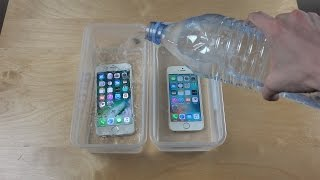 Download iPhone 7 vs. iPhone SE Water Freeze Test 20 Hours! Video