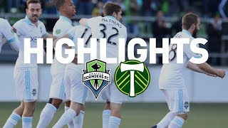 Download Highlights: Seattle Sounders FC vs Portland Timbers | U.S. Open Cup | June 13, 2017 Video