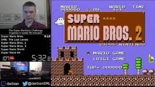 Download The Super Marihour Challenge - 6 games in under 60 minutes! Video