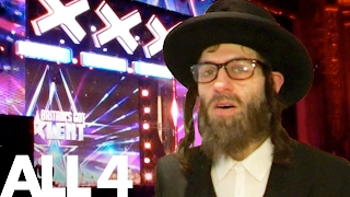 Download Simon Cowell & BGT Epically Pranked By Rapping Rabbi Video