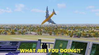 Download 747 Pilot LOSES HIS MIND in Flight Simulator X (Multiplayer ATC) Video