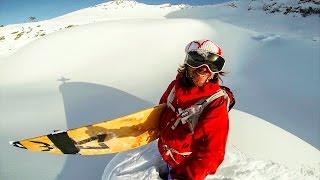 Download GoPro: Pro Skier Surfs Powder in Austria Video