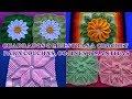 Download Cuadrados, Grany Square o Muestras a crochet para colchas , cojines y mantitas. Video