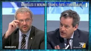 Download Borghi (Lega): 'L'euro è come una trottola, sappiamo che alla fine crollerà' Video