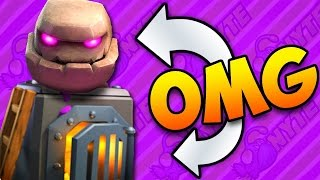 Download GOLEM FURNACE Power Deck! Clash Royale Video