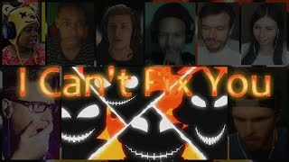 Download ″I Can't Fix You″ Song By The Living Tombstone & Crusher-P Reaction Mashup Video