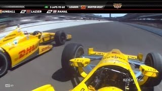 Download 2014 Indy 500 Finish Video
