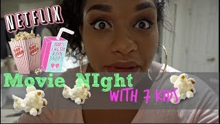 Download MOVIE NIGHT WITH 7 KIDS! Video