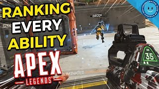 Download Ranking and Explaining Every Ability, Ultimate And Passive in Apex Legends! Video